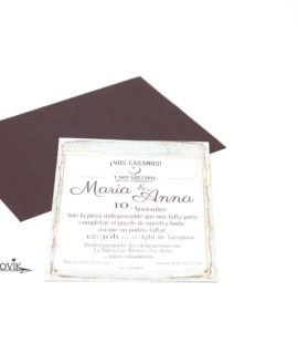 Invitacion De Boda «World»