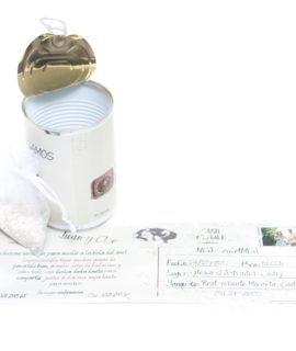 Invitacion De Boda Lata Tarjeton «Mail»